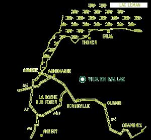 Le plan de la région