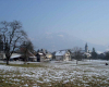 Viuz-en-Sallaz en hiver
